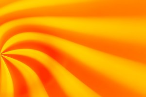 Orange sunny abstract bokeh background