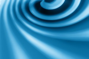 Blue swirl abstract bokeh background