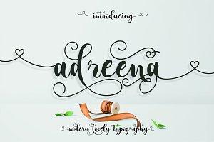 Adreena Script ( 30 % OFF )