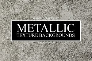 Metallic Hand Painted Textures