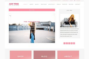 Just Pink - Divi Child Theme