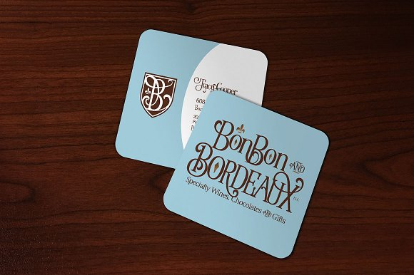 Square Business Card Rd Corners