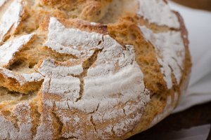 Homemade rustic bread