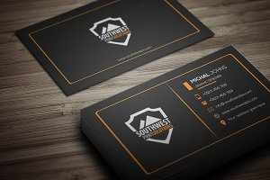 Black Corporate Business Card