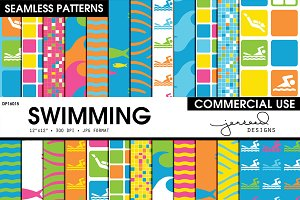 Swimming Seamless Patterns | DP16015