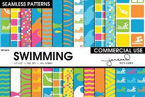 Swimming Seamless Patterns | DP16015