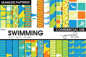 Swimming Seamless Patterns | DP16014