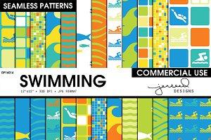 Swimming Seamless Patterns | DP16014