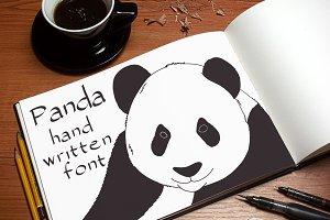 Panda - Font No.16