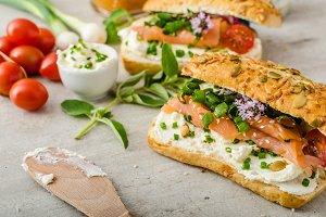 Healthy Fish snack