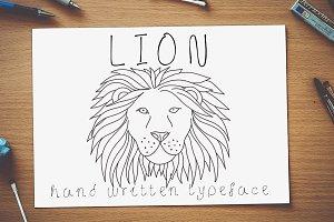 Lion - Font No.20