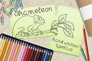 Chameleon - Font No.23