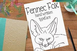 Fennec Fox -Font No.24