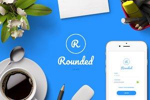 Rounded UI kit