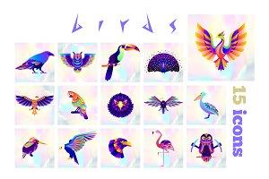 15 Bird icons