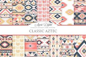 Classic Aztec Digital Paper