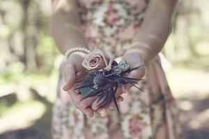 Florals for the bridal party