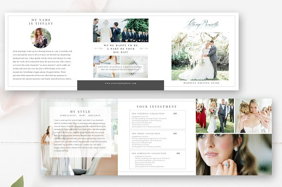 Wedding Photography Brochure PSD