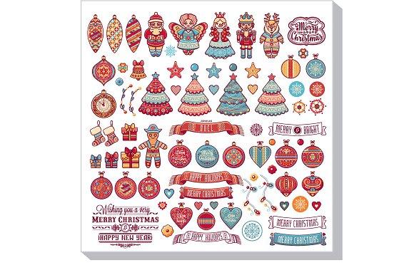 Christmas Decorations Big Set