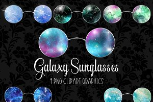 Galaxy Sunglasses Clipart