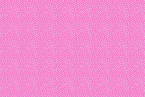Pink + White Dots Vector Pattern
