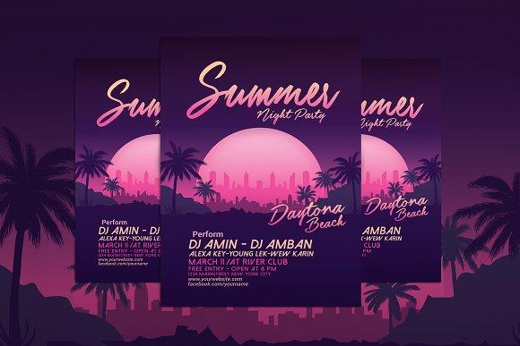 Summer Night Beach Party