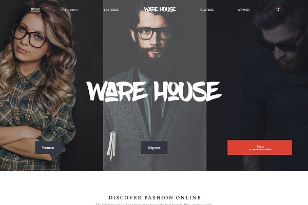Warehouse - eCommerce WP theme
