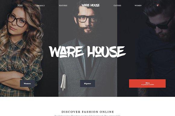 Warehouse - eCommerce WP theme