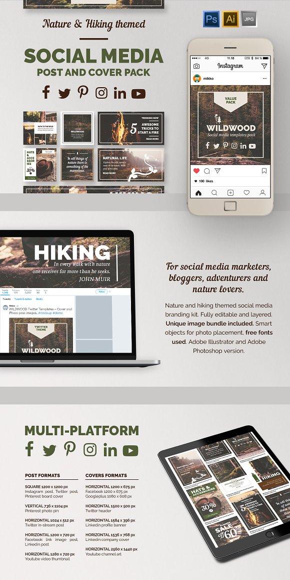 WildWood Social Media Value Pack