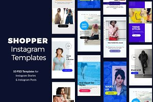 Shopper Instagram Templates