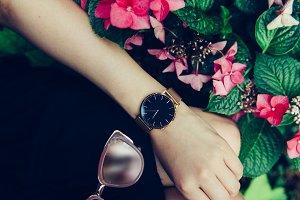 Female accessories concept
