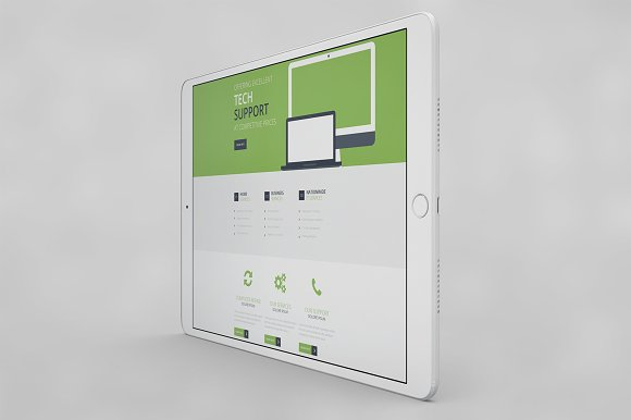 IPad Pro 10.5 App MockUp 2017