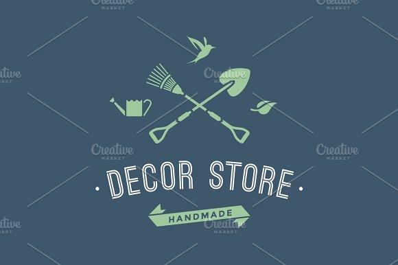 Logo Of Hand Made Decor Store