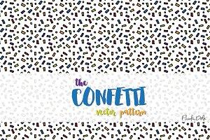 CONFETTI Vector Pattern