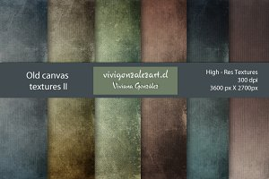 Old canvas textures II
