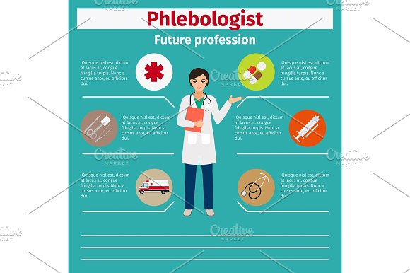 Future Profession Phlebologist Infographic