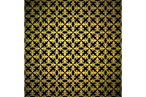 Luxury golden background with ornament