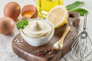 Natural mayonnaise ingredients