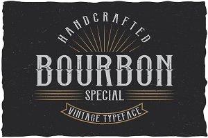 Bourbon Special Label Typeface