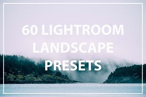 60 Landscape Lightroom Preset Bundle