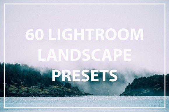 60 Landscape Lightroom Preset Bundle