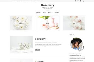 Rosemary - Divi Child Theme