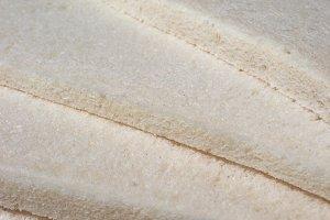 white bread with milk