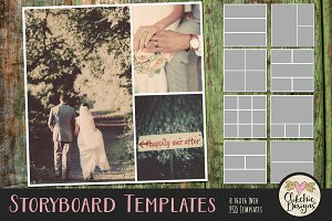 Storyboard Photoshop Templates