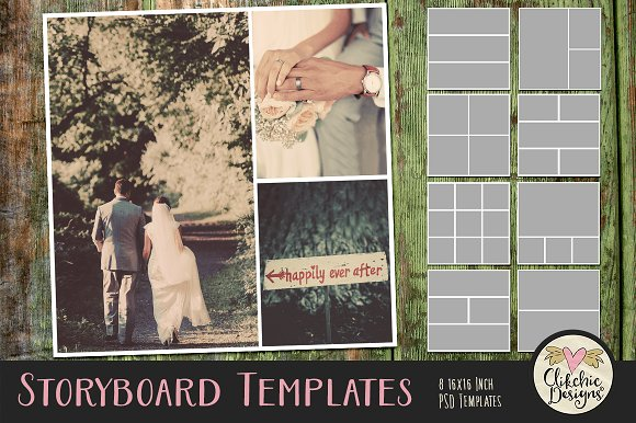 Storyboard Photoshop Templates Presentation Templates Creative