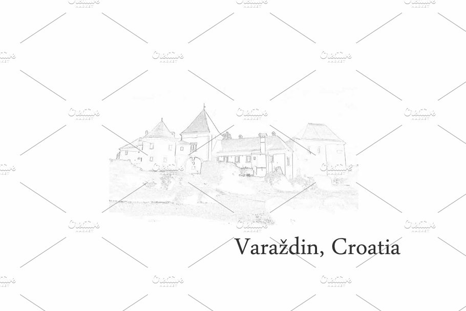 Croatia Postcards - Varazdin
