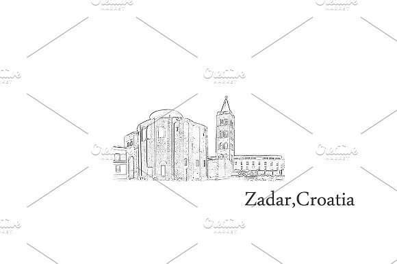 Croatia Postcards - Zadar