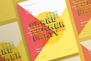 Posters | Summer Party