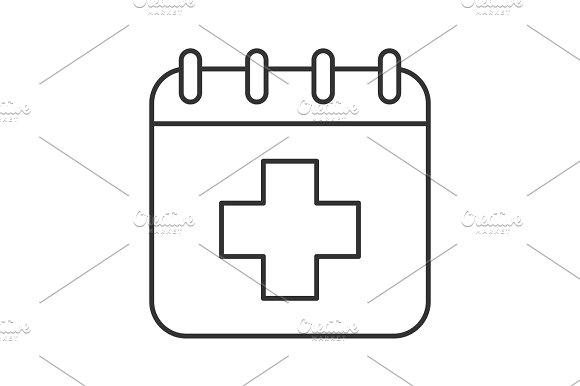 World Health Day Linear Icon
