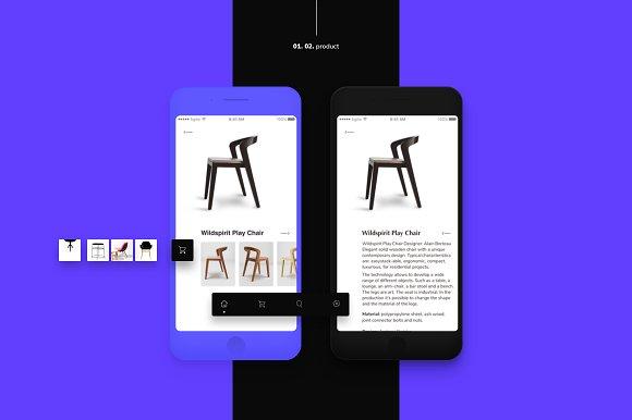 Furniture E-commerce App Ui Kit